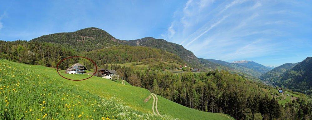 Buchen Sie Ihre Ferienwohnung am Ritten auf dem Pirchnerhof
