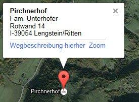 Pirchnerhof-Lageplan